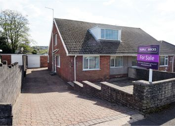 Thumbnail 4 bedroom semi-detached house for sale in Weig Fach Lane, Fforestfach