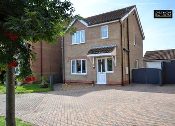 Thumbnail 3 bed detached house for sale in Sagefield Close, Scartho