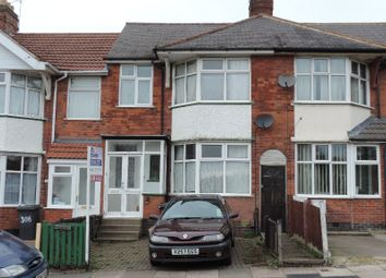 Thumbnail 3 bed town house to rent in Gwendolen Road, Leicester