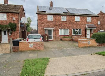 Thumbnail 2 bedroom semi-detached house for sale in Almond Road, Dogsthorpe, Peterborough