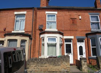 Thumbnail 2 bed terraced house for sale in Strelley Street, Bulwell, Nottingham