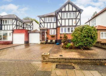 Thumbnail 3 bed detached house for sale in Eversley Avenue, Wembley
