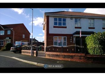 Thumbnail 3 bed semi-detached house to rent in Greetland Drive, Manchester