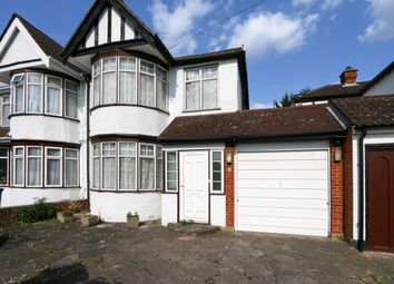 Thumbnail 3 bed semi-detached house for sale in Alicia Gardens, Kenton