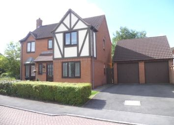 Thumbnail 4 bed detached house to rent in Lawrence Close, Leicester