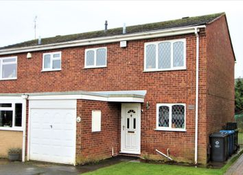 Thumbnail 3 bed semi-detached house for sale in Benson Close, Perton, Wolverhampton
