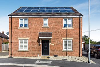 Thumbnail 4 bed detached house for sale in Swaledale Road, Warminster