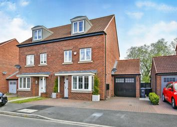 Thumbnail 4 bed semi-detached house for sale in Prospect Place, Coxhoe, Durham
