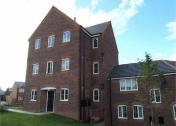 Thumbnail 2 bed flat for sale in Lowry Close, Corby, Northamptonshire