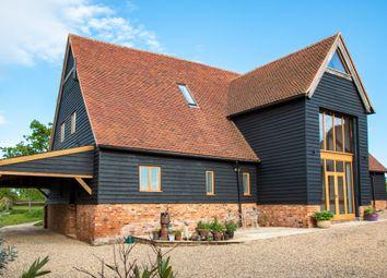 Thumbnail 4 bedroom barn conversion for sale in Lower Stoke Road, Ashen, Sudbury