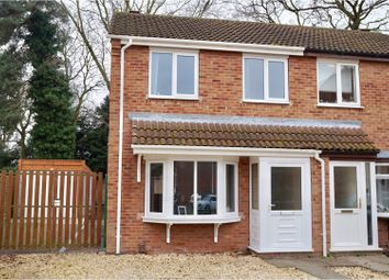 Thumbnail 3 bed semi-detached house for sale in Stenigot Close, Lincoln