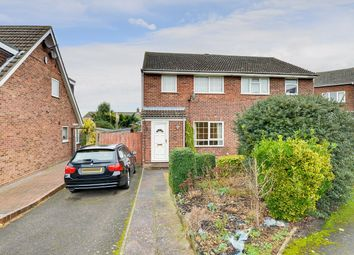 Thumbnail 3 bed semi-detached house for sale in Greengage Rise, Melbourn, Royston