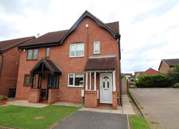 Thumbnail 2 bed semi-detached house for sale in Aldwych Close, Nuthall, Nottingham