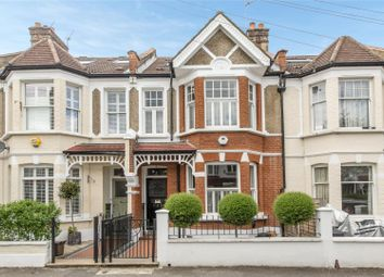 Thumbnail 4 bed terraced house for sale in Stuart Road, Southfields, London