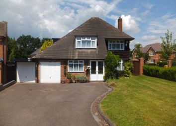 Thumbnail 4 bed detached house for sale in Bennett Road, Four Oaks, Sutton Coldfield