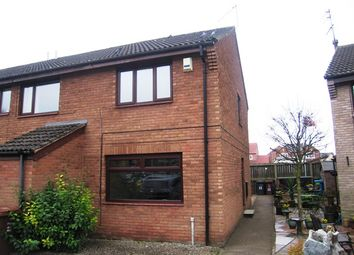 Thumbnail 2 bedroom end terrace house to rent in Waddington Court, Hull