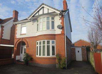 Thumbnail 3 bed detached house for sale in Wharton Bridge, Wharton Road, Winsford