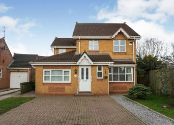 Thumbnail 3 bed detached house for sale in Ashbourne Drive, Coxhoe Durham