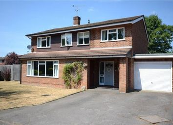 Thumbnail 5 bed detached house for sale in Heath Close, Wokingham, Berkshire