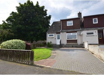 Thumbnail 3 bed end terrace house for sale in Lessudden Park, St Boswells