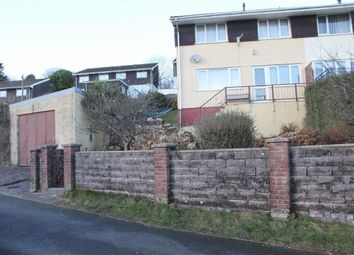 Thumbnail 3 bed semi-detached house for sale in The Garth, Abertridwr, Caerphilly