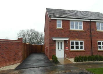 Thumbnail 3 bed semi-detached house to rent in Yew Tree Meadow, Hadley, Telford