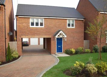 Thumbnail 1 bed mews house to rent in Snowgoose Way, Newcastle-Under-Lyme