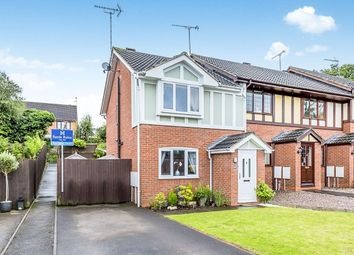 Thumbnail 3 bed semi-detached house for sale in Curlew Close, Uttoxeter