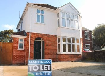 Thumbnail 3 bed detached house to rent in Albert Crescent, Bury St. Edmunds