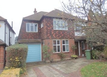 Thumbnail 4 bed detached house to rent in Pine Hill, Epsom