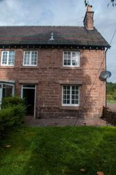 Thumbnail 2 bedroom terraced house to rent in Craigton Cottages, Raemoir Road, Banchory, Aberdeenshire
