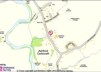 Thumbnail Land for sale in Ashford Carbonell, Ludlow, Shropshire