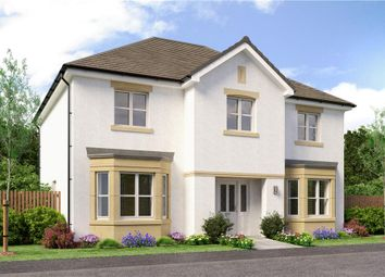 "Thumbnail 5 bed detached house for sale in ""Chichester"" at Auchinleck Road, Robroyston, Glasgow"