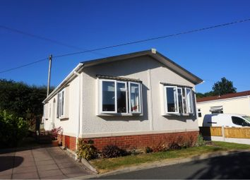 Thumbnail 2 bed mobile/park home for sale in Warrington Road, Northwich