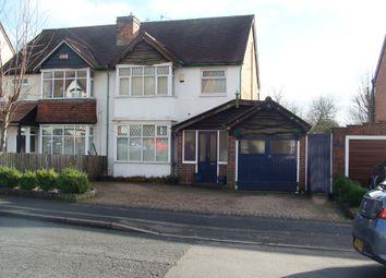3 bed semi-detached house for sale in Woodland Road, Northfield, Birmingham B31