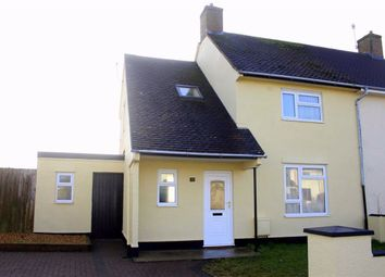 Thumbnail 3 bed semi-detached house for sale in Dewing Avenue, Manorbier, Tenby