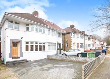 Thumbnail 3 bed semi-detached house for sale in Ashfield Road, Southgate, London, .