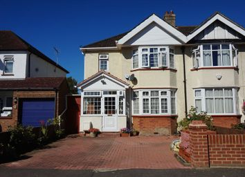 Thumbnail 3 bed semi-detached house for sale in Kingsmead Avenue, Tolworth, Surbiton