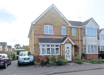 Thumbnail 3 bedroom semi-detached house for sale in Miller Close, Church Milton, Kent