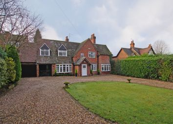Thumbnail 4 bed detached house for sale in Alcester Road, Burcot