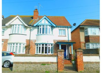 Thumbnail 4 bed semi-detached house for sale in Madeira Avenue, Worthing