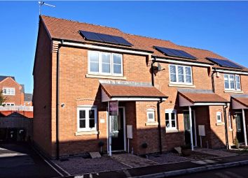 Thumbnail 2 bed end terrace house for sale in Gifford Close, Leicester