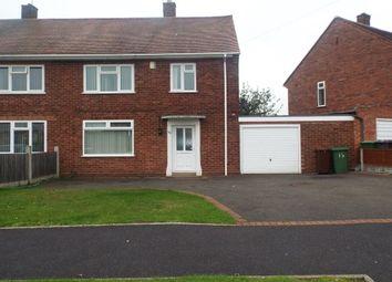 Thumbnail 3 bedroom property to rent in Ireton Road, Bushbury, Wolverhampton