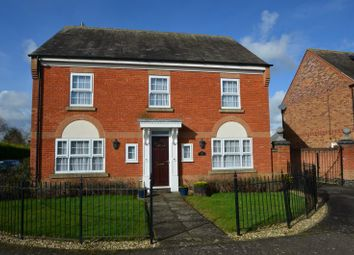 Thumbnail 4 bed detached house for sale in Garfield Park, Great Glen, Leicester