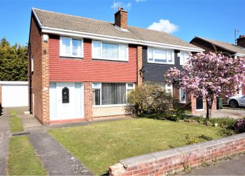 Thumbnail 3 bed semi-detached house for sale in Staindrop Drive, Middlesbrough