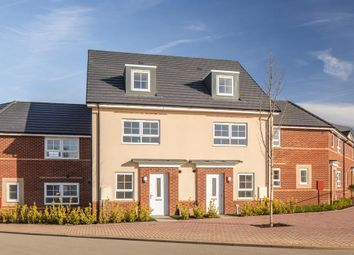 """Thumbnail 4 bed terraced house for sale in """"Kingsville"""" at Llantrisant Road, Capel Llanilltern, Cardiff"""