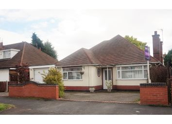 Thumbnail 5 bedroom detached bungalow for sale in Colby Road, Leicester