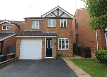 Thumbnail 3 bed detached house for sale in Sorrel Drive, Woodville, Derbyshire