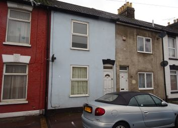 Thumbnail 2 bed terraced house for sale in Thorold Road, Chatham, Kent.