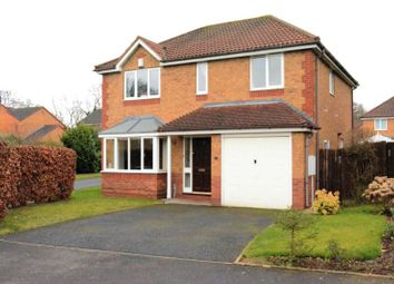 Thumbnail 4 bedroom detached house for sale in 22 Cedarwood Drive, Muxton, Telford